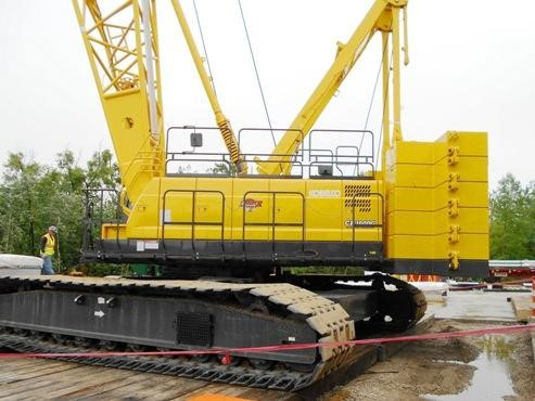 Detail photo of 2012 Kobelco CK1600G from Construction Equipment Guide
