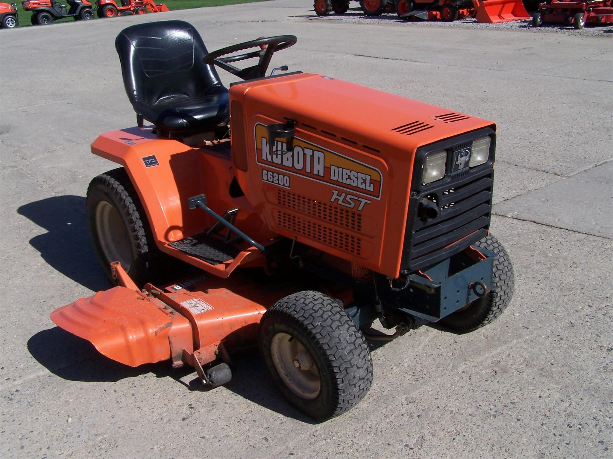 wisconsin ag connection kubota g6200h riding lawn mowers for sale. Black Bedroom Furniture Sets. Home Design Ideas