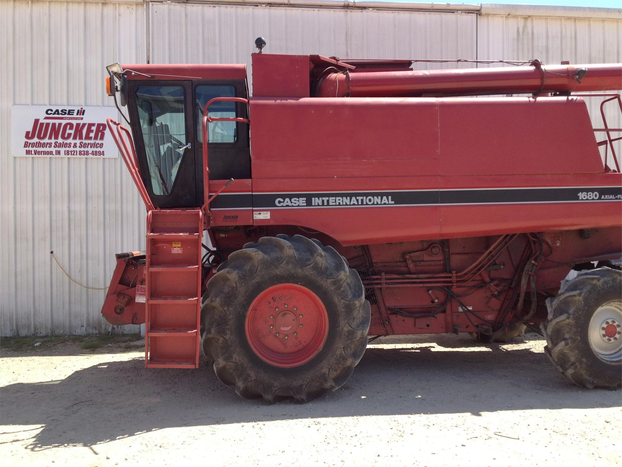 Case Ih 1680 : Wisconsin ag connection case ih combines for sale