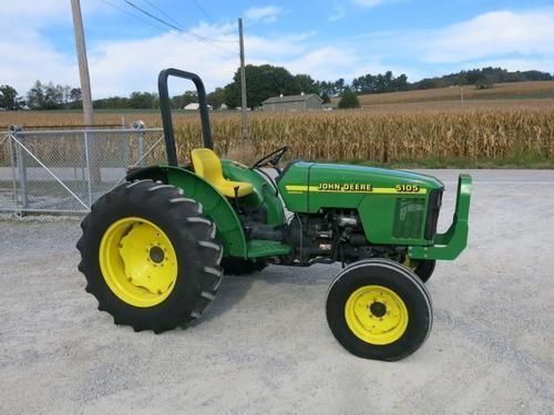 Used John Deere 5105 : John deere tractors hp to for auction