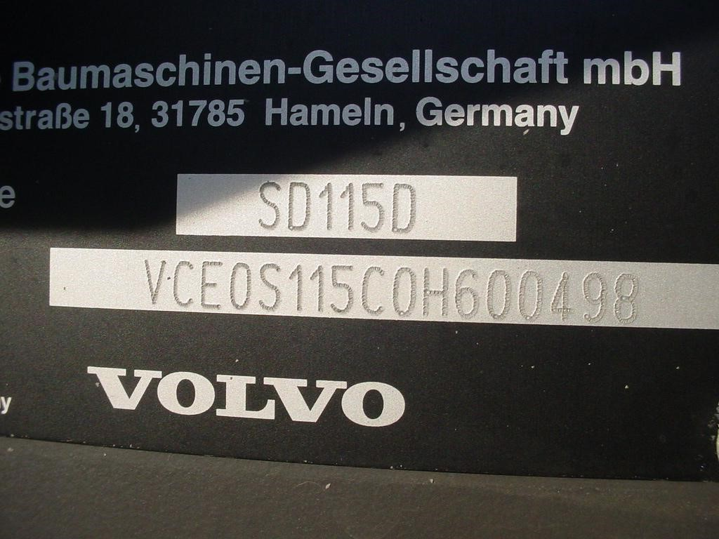 Detail photo of 2013 Volvo SD115D from Construction Equipment Guide