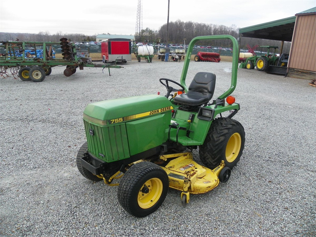john deere 755 tractors less than 40 hp for auction at. Black Bedroom Furniture Sets. Home Design Ideas
