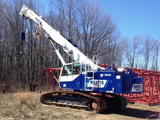 Detail photo of 2012 Mantis 6010 from Construction Equipment Guide
