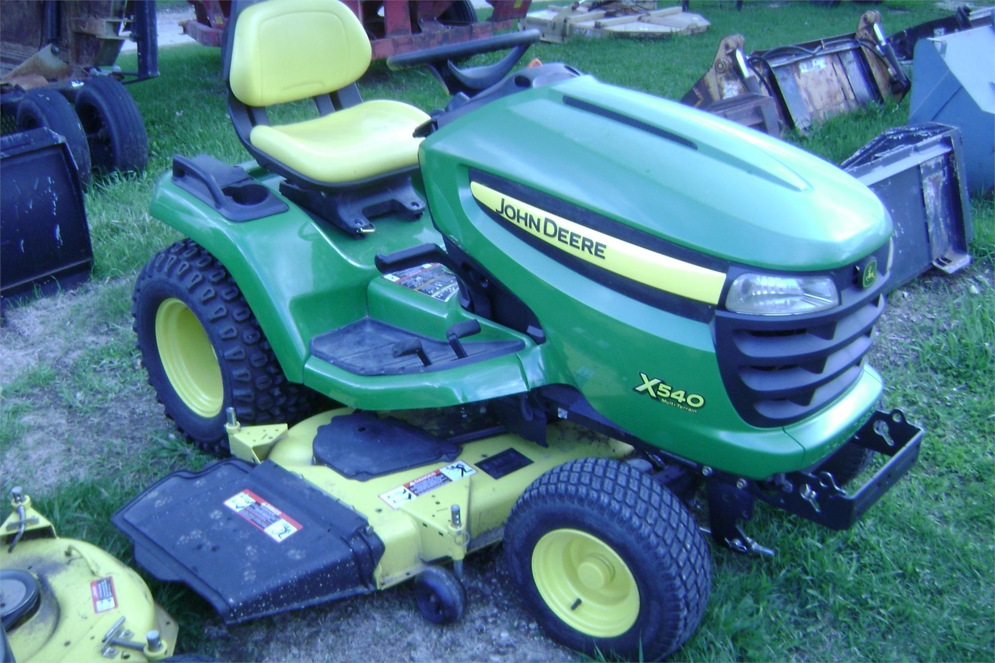 iowa ag connection john deere x540 riding lawn mowers for sale. Black Bedroom Furniture Sets. Home Design Ideas