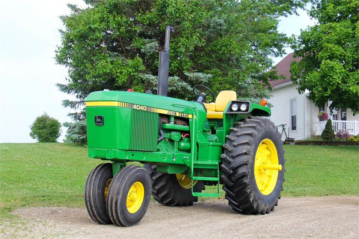 John Deere 110 Narrow Front : John deere tractors hp to for auction