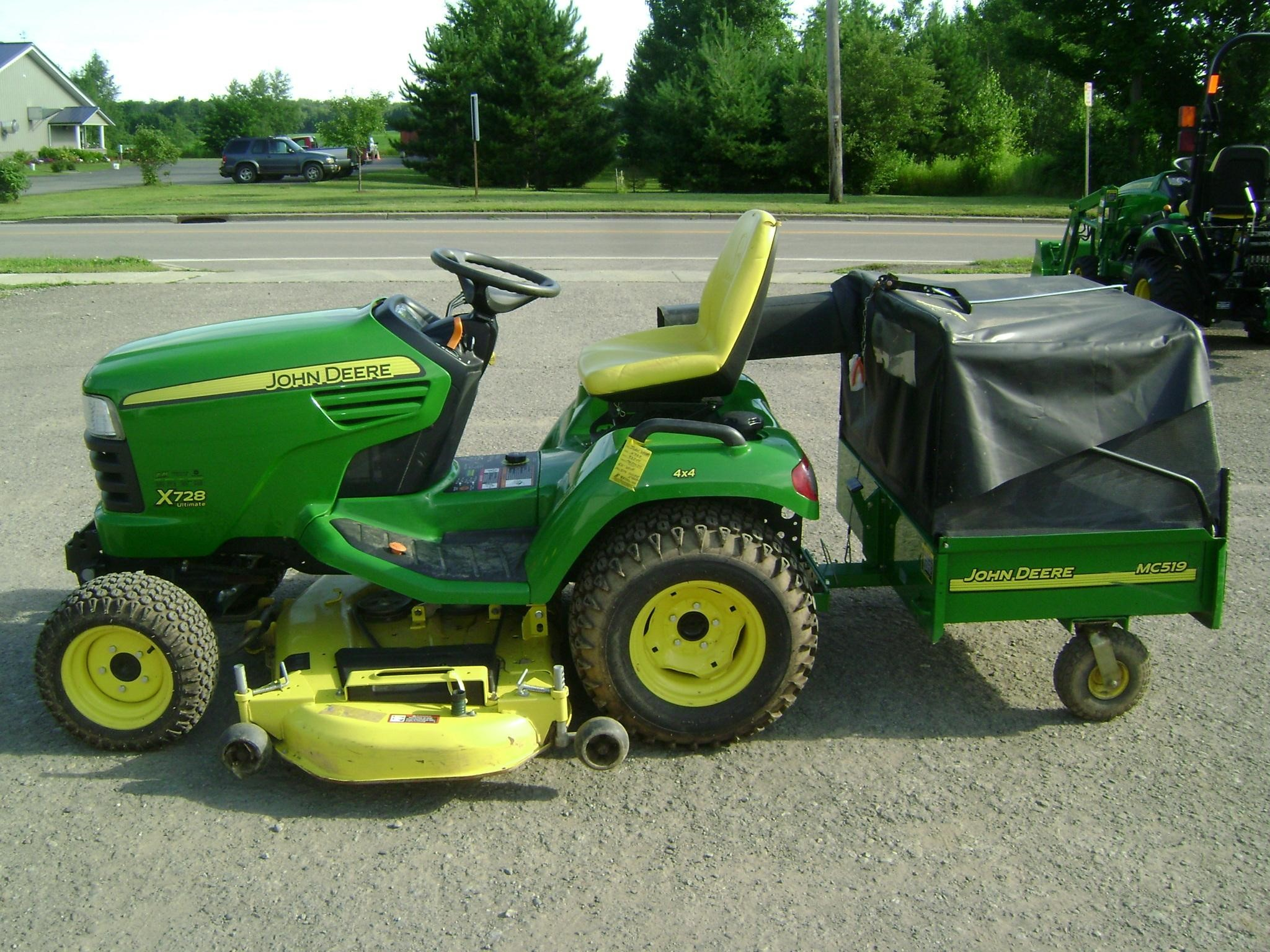 John Deere X728 Lawn Tractor : Wisconsin ag connection john deere riding lawn