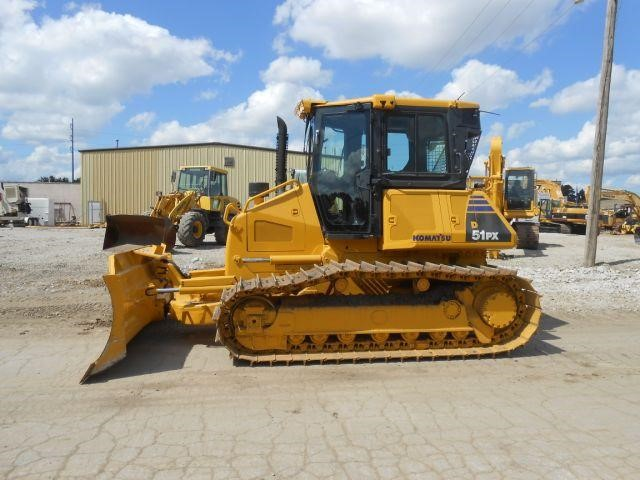 Detail photo of 2009 Komatsu D51PX-22 from Construction Equipment Guide