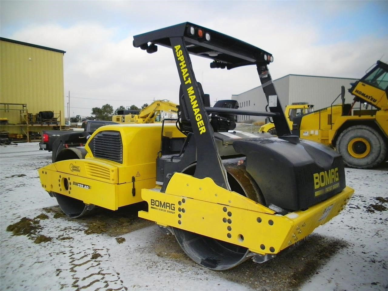 Detail photo of 2010 Bomag BW278AD-4 from Construction Equipment Guide