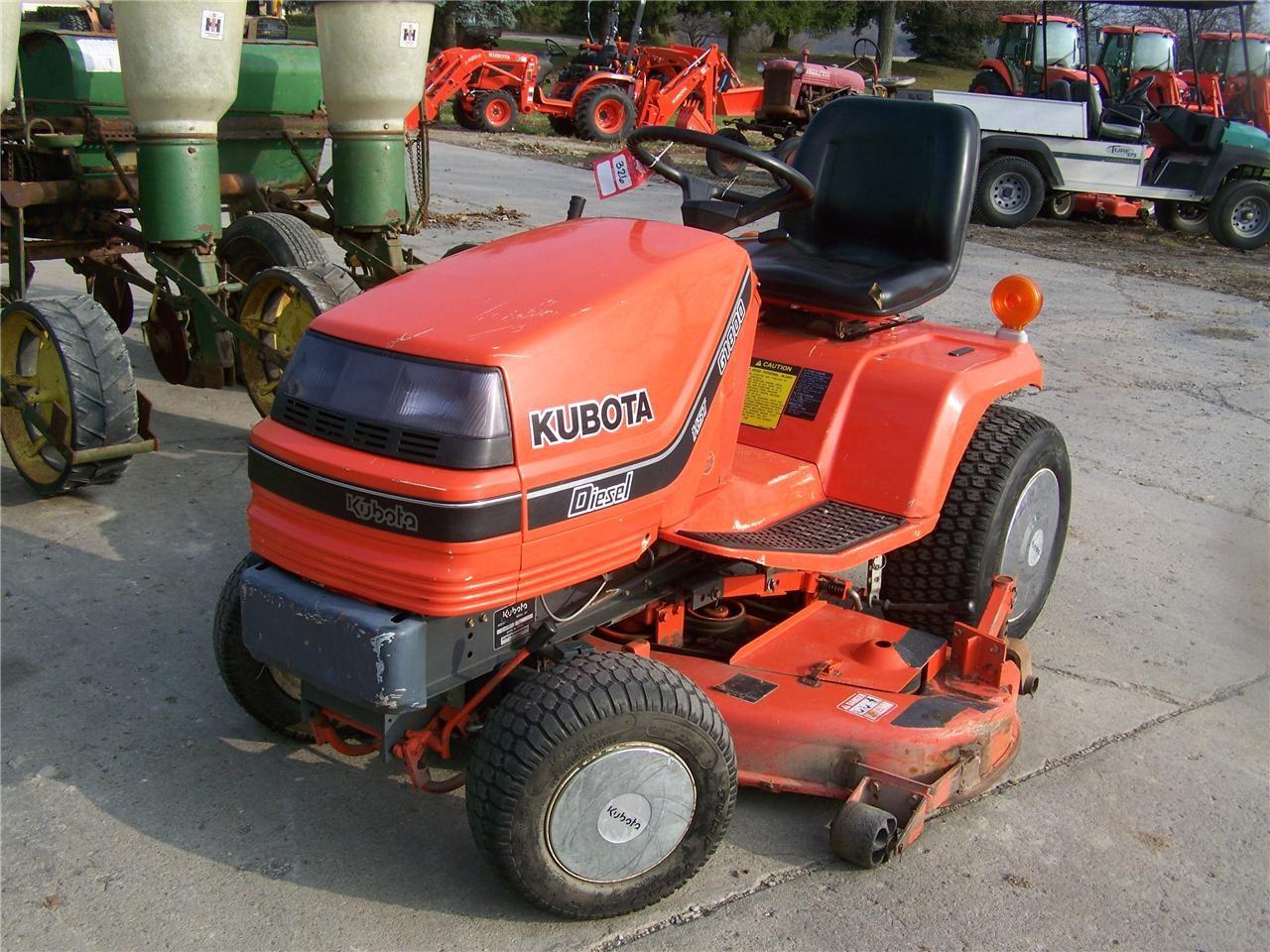 Kubota Lawn Tractors : Wisconsin ag connection kubota g riding lawn mowers