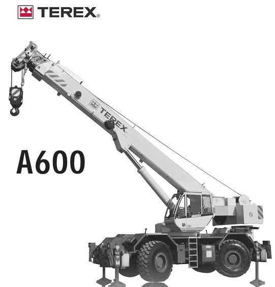 Detail photo of 2017 Terex A600 from Construction Equipment Guide