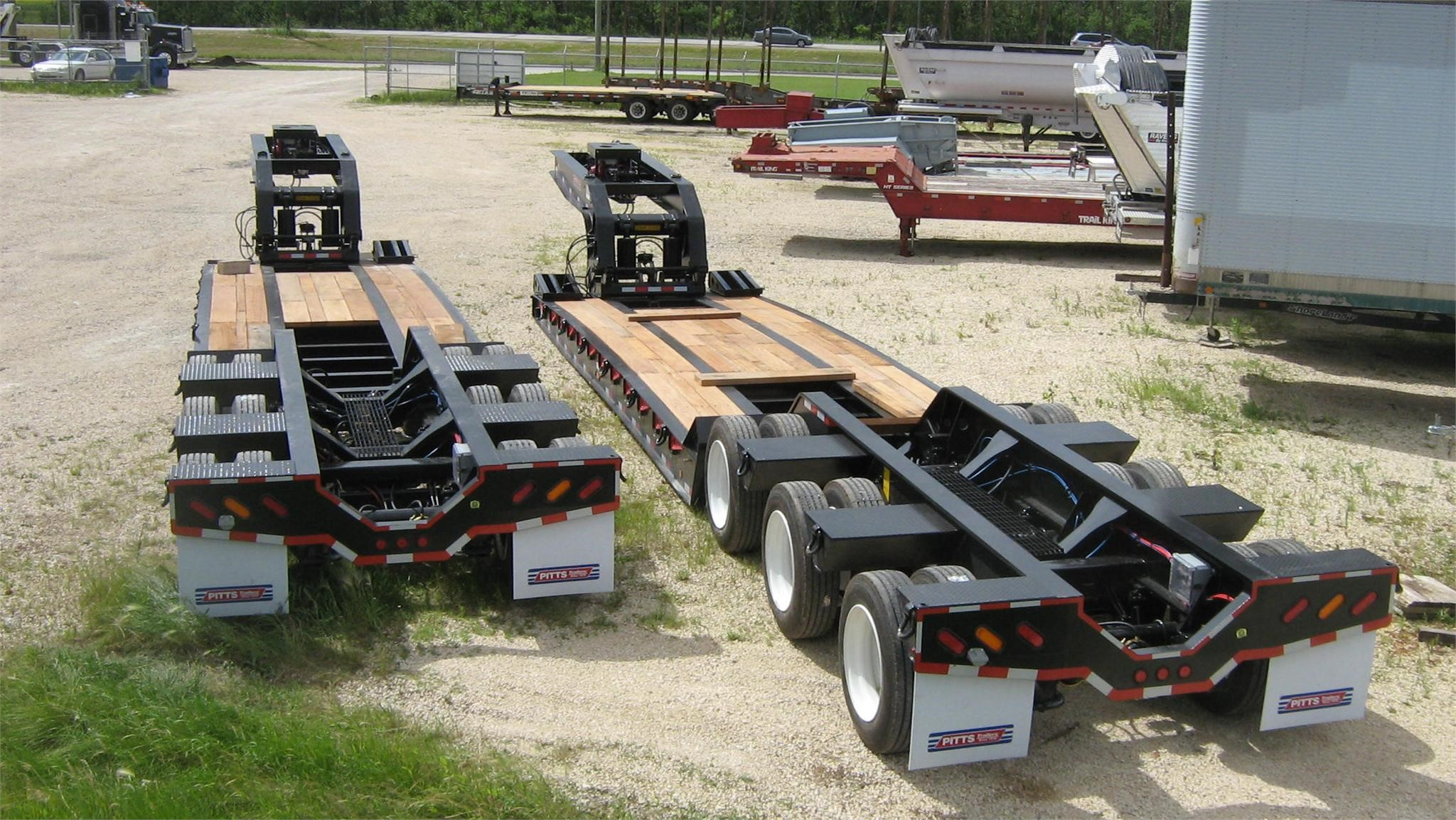 Lowboy Trailers Used Lowboy Trailers Lowboy Trailers For