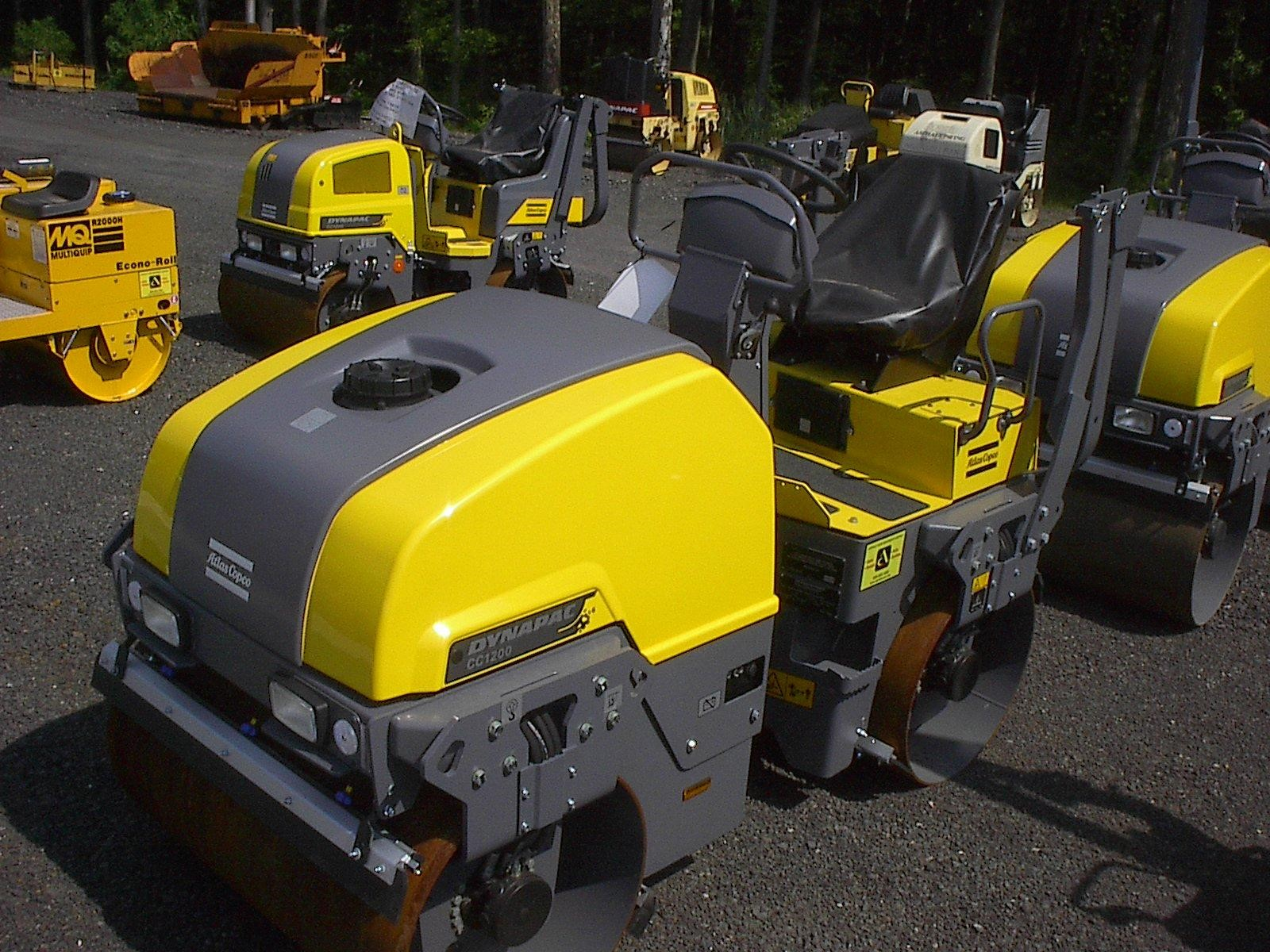 Detail photo of 2016 Atlas Copco CC1200 PLUS from Construction Equipment Guide