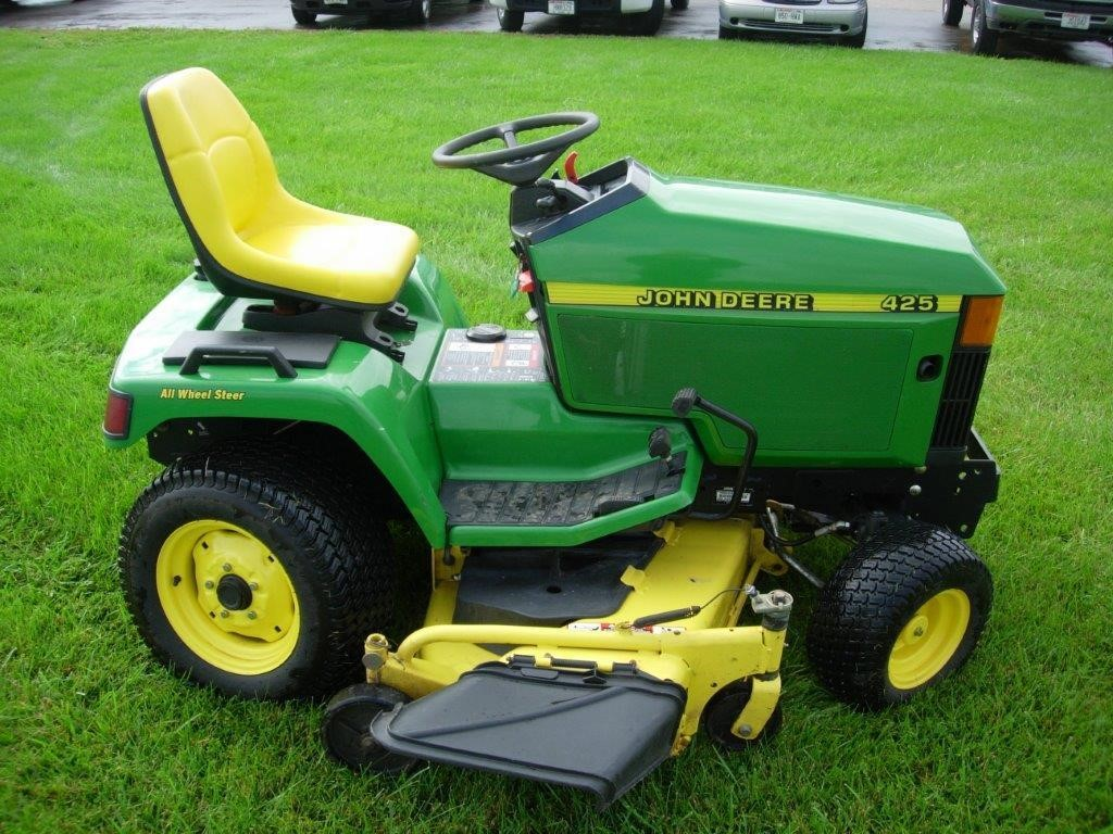 wisconsin ag connection john deere 425 riding lawn mowers for sale. Black Bedroom Furniture Sets. Home Design Ideas