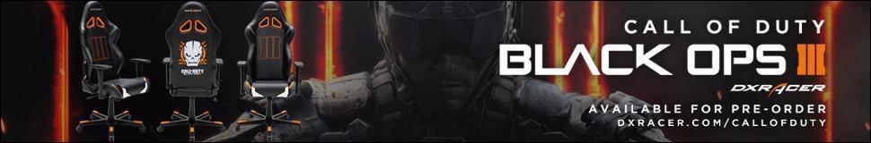DXRacer COD Black Ops 3