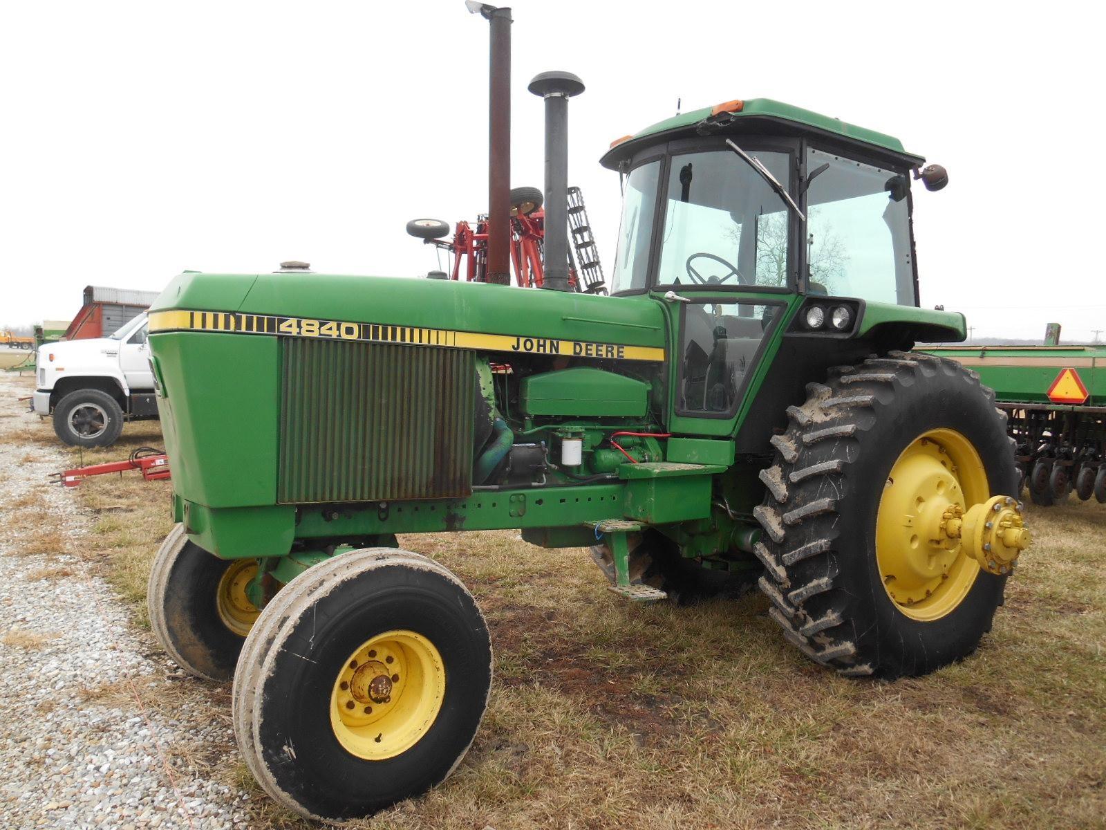 John Deere 4840 : Wisconsin ag connection john deere tractors for sale