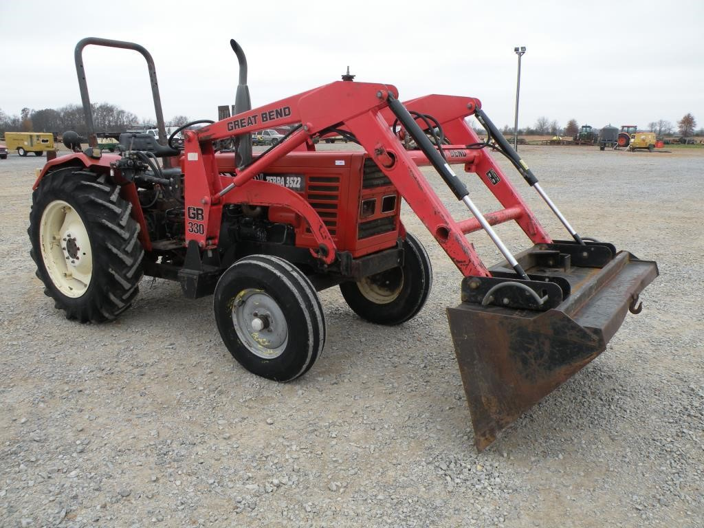 3522 Zebra Zetor Tractor Parts : Zebra tractors hp to for auction at