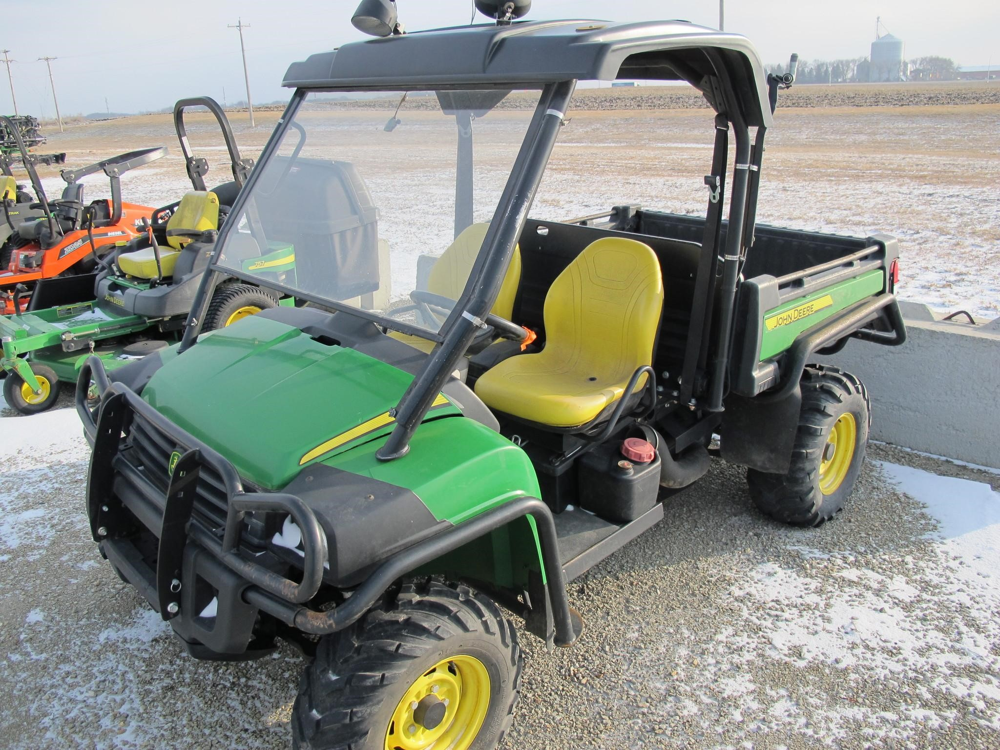 wisconsin ag connection john deere gator xuv 855d. Black Bedroom Furniture Sets. Home Design Ideas