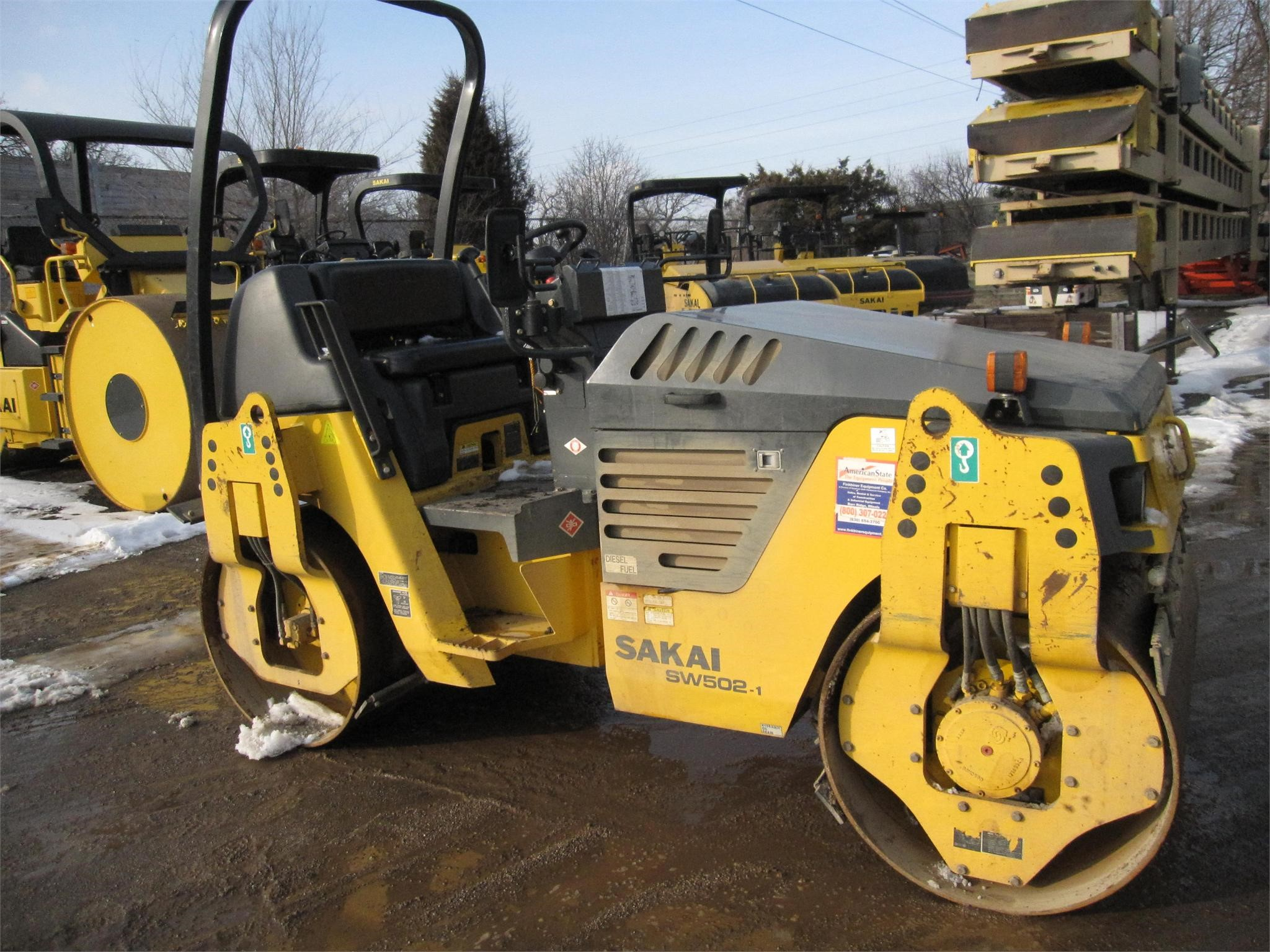 Detail photo of 2013 Sakai SW502 from Construction Equipment Guide