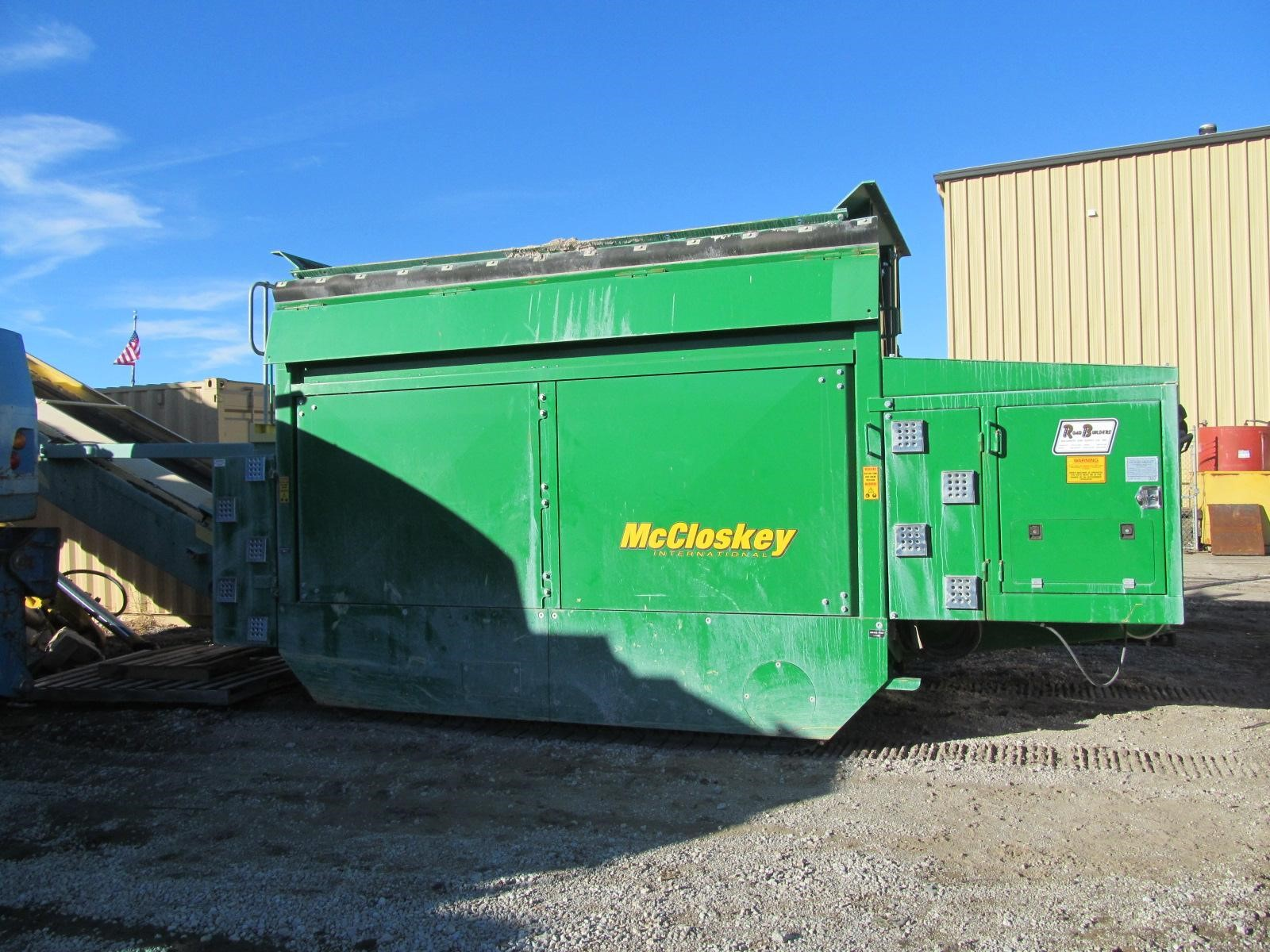 Detail photo of 2013 McCloskey 123 TRACK SIZER from Construction Equipment Guide