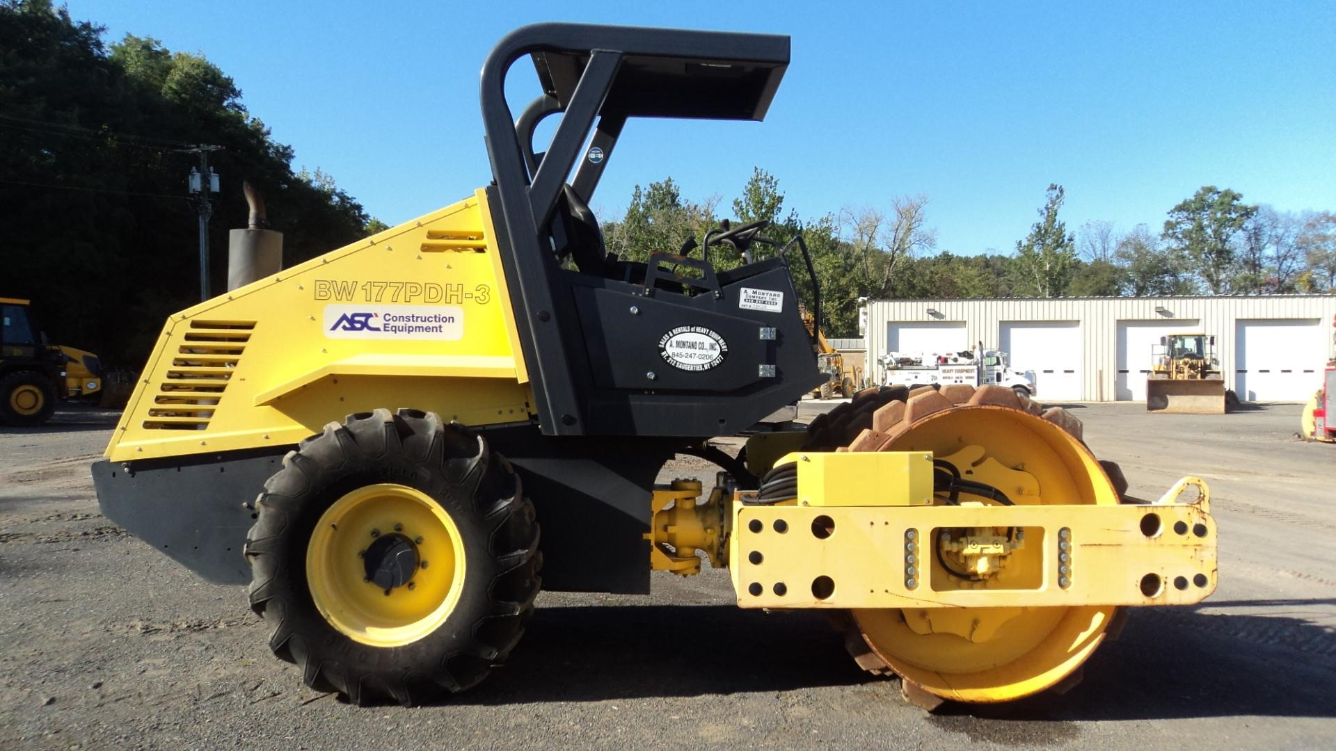 Detail photo of 2007 Bomag BW 177 PDH-3 from Construction Equipment Guide
