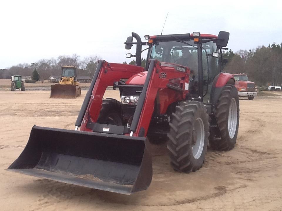 2012 case ih maxxum 125 tractors 100 hp to 174 hp for. Black Bedroom Furniture Sets. Home Design Ideas