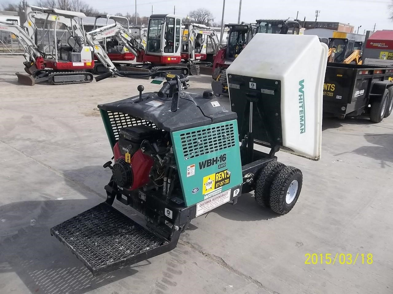 Detail photo of 2011 Whiteman WBH16E from Construction Equipment Guide