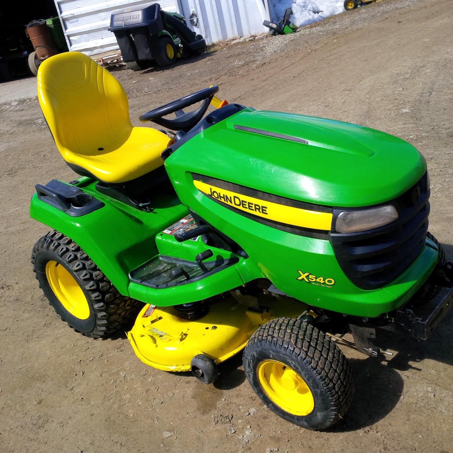 wisconsin ag connection john deere x540 riding lawn mowers for sale. Black Bedroom Furniture Sets. Home Design Ideas