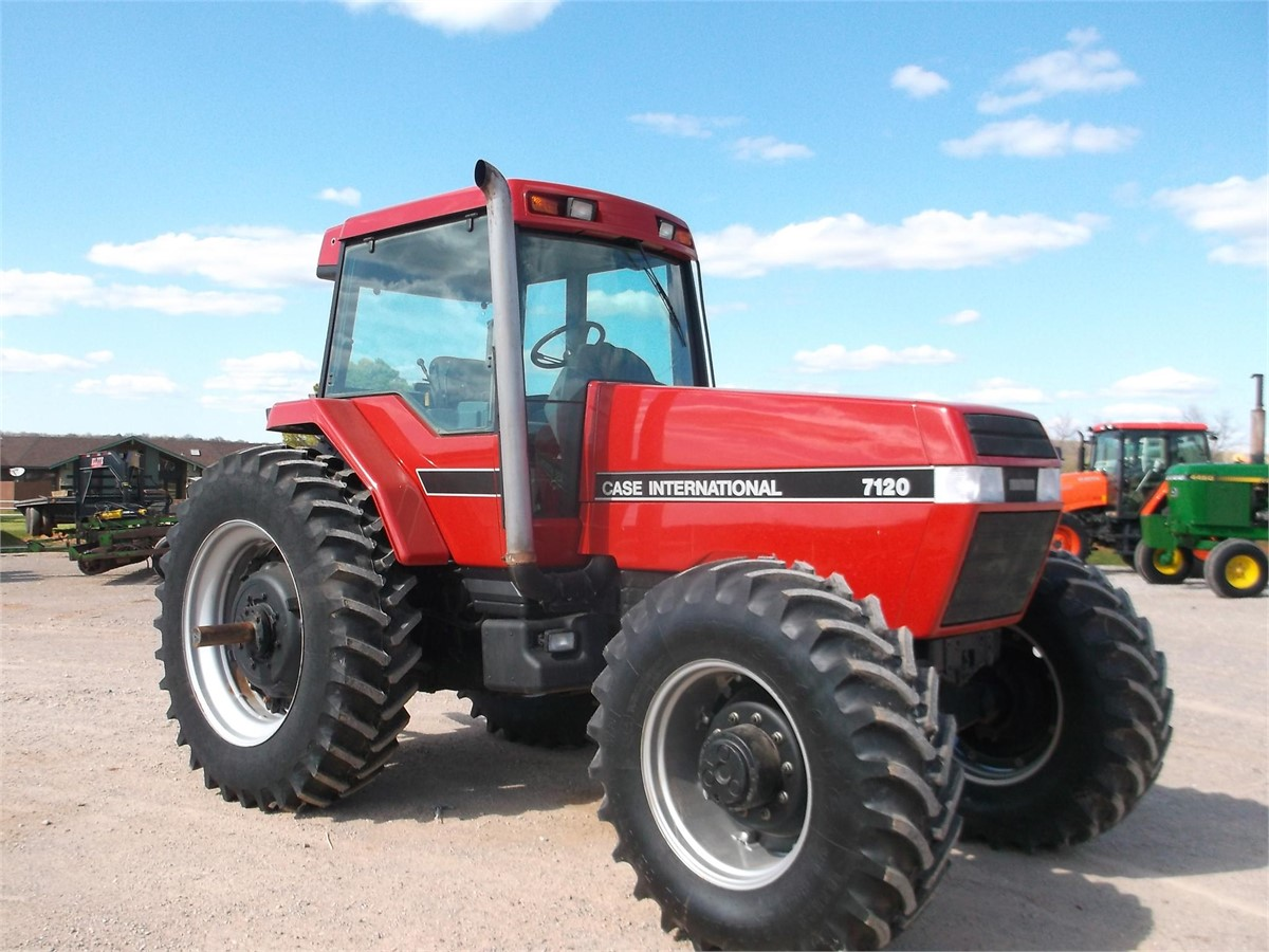 Case Ih 7120 : Case ih tractors hp to for auction