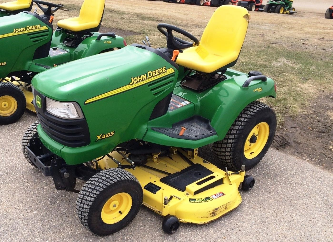 wisconsin ag connection john deere x485 riding lawn mowers for sale. Black Bedroom Furniture Sets. Home Design Ideas
