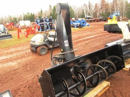 NEW HOLLAND 716C Snow Blower Attachment