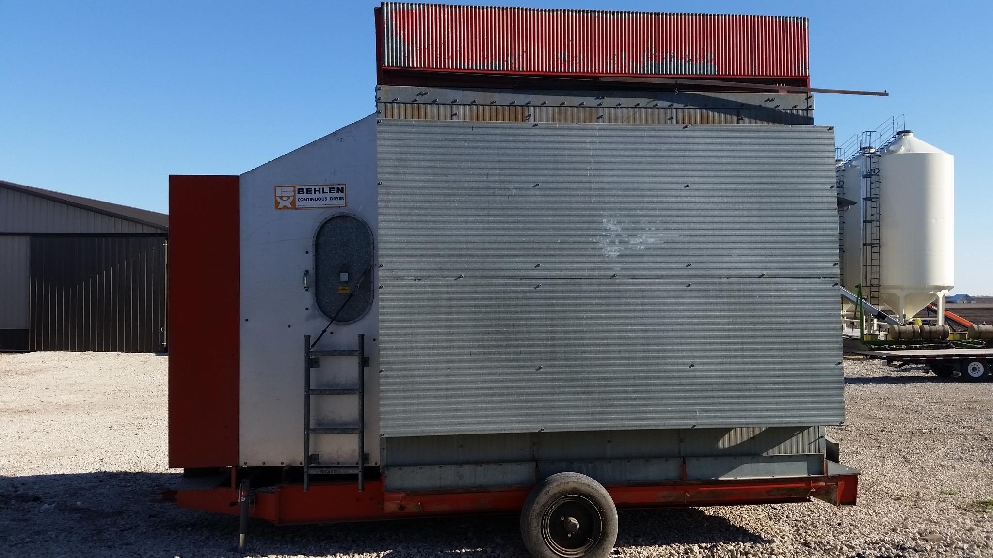BEHLEN 700 Grain Dryer