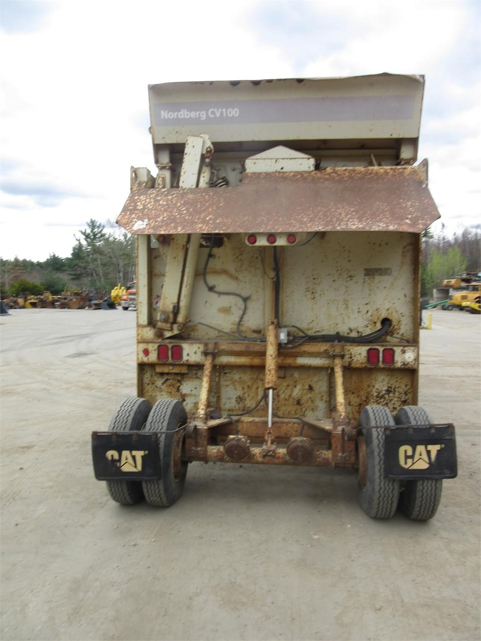 Detail photo of  Metso CV100 from Construction Equipment Guide