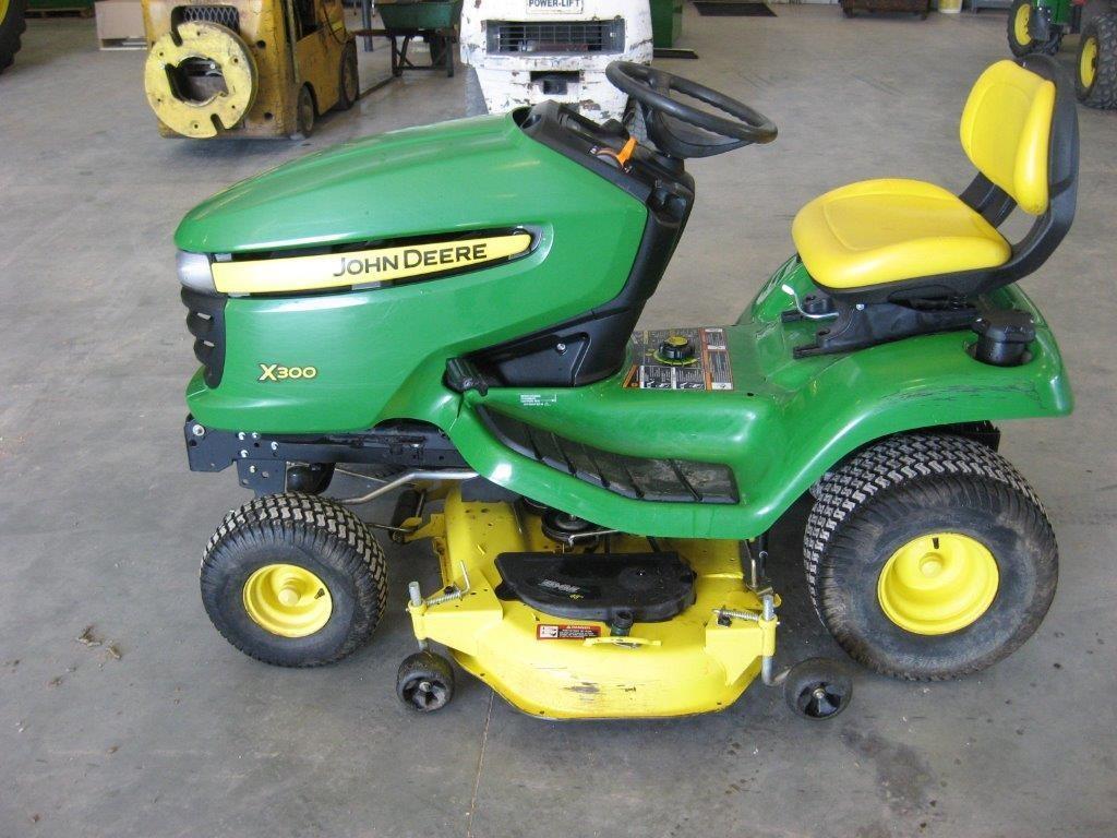 John Deere X300 Lawn Tractor : Wisconsin ag connection john deere riding lawn