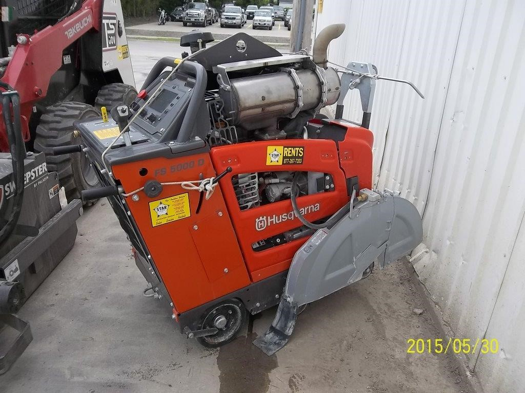Detail photo of 2014 Husqvarna FS5000D from Construction Equipment Guide