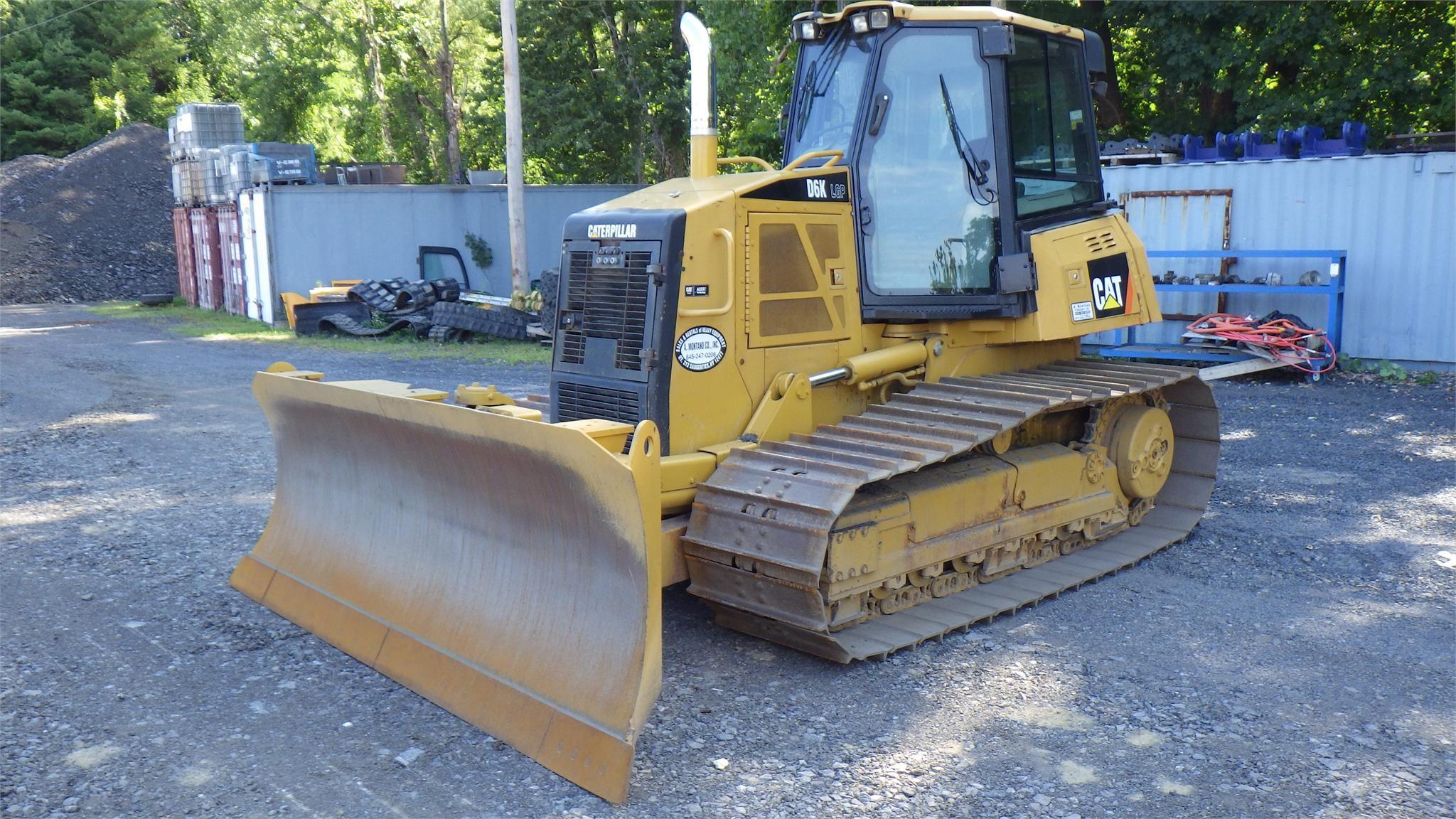 Detail photo of 2008 Caterpillar D6K LGP from Construction Equipment Guide
