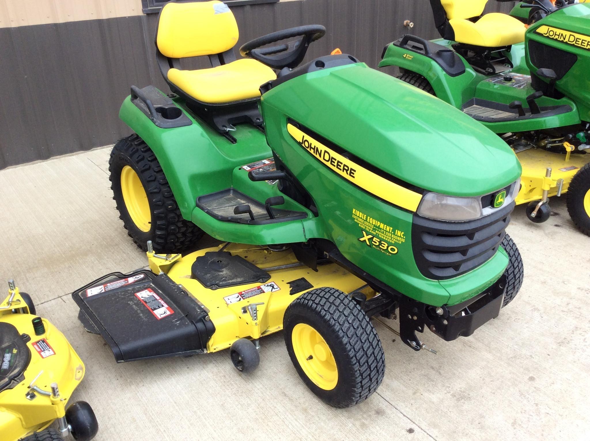 John Deere X530 Lawn Tractor : Wisconsin ag connection john deere riding lawn