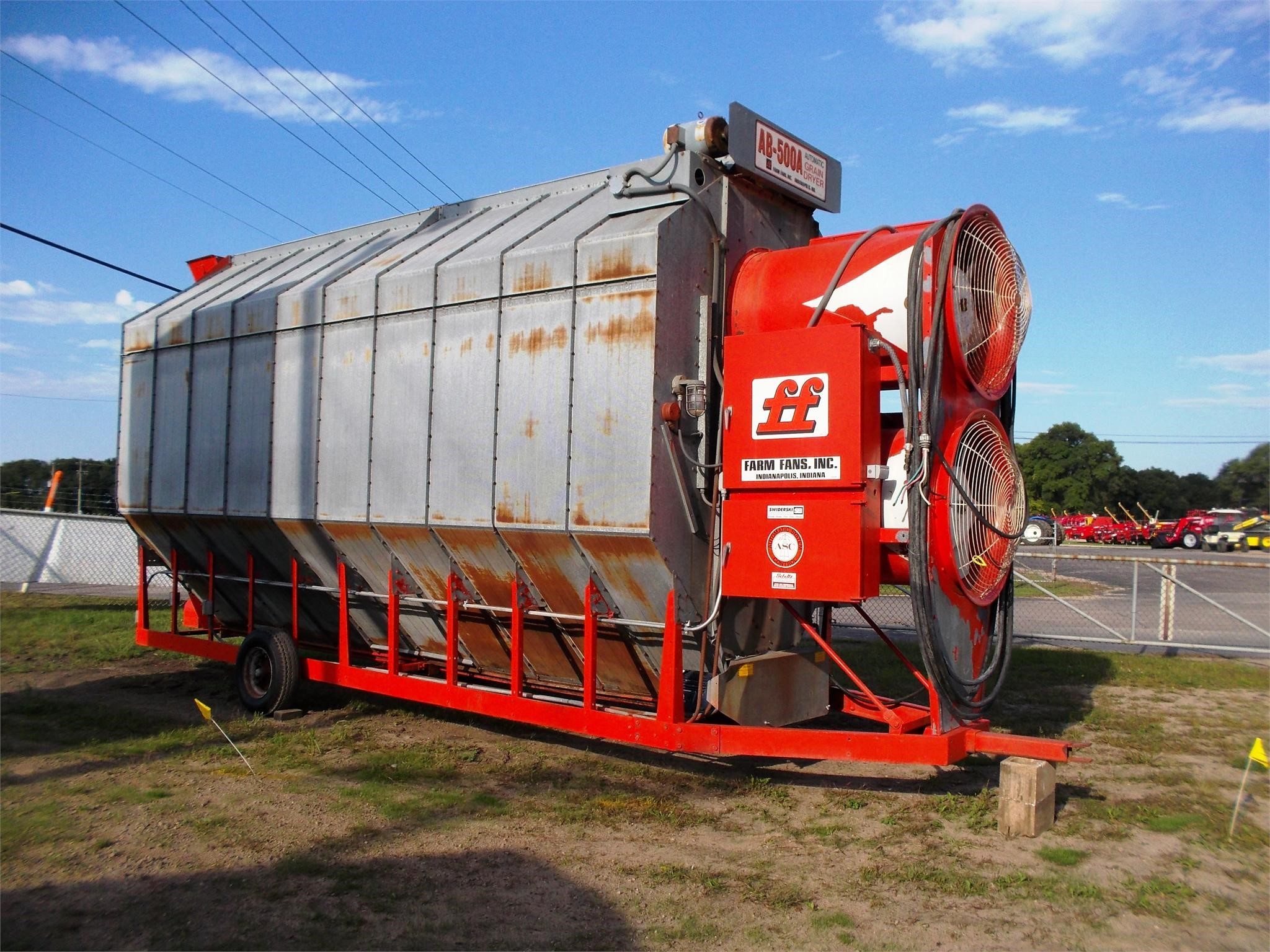 FARM FANS AB500A Grain Dryer