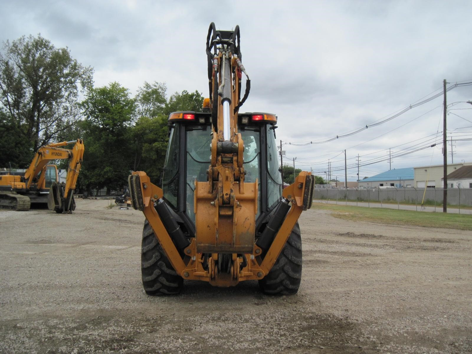 Detail photo of 2014 Case 590 SN from Construction Equipment Guide