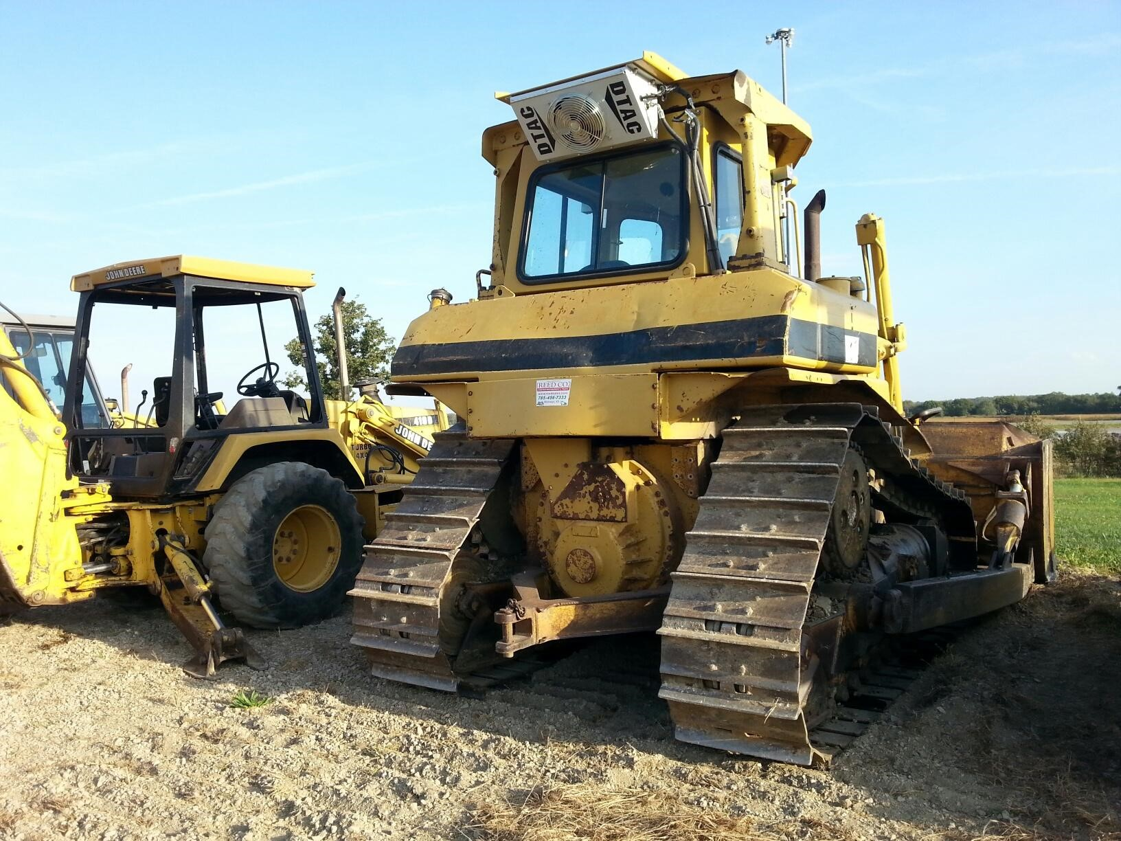 Detail photo of 1990 Caterpillar D6H II from Construction Equipment Guide