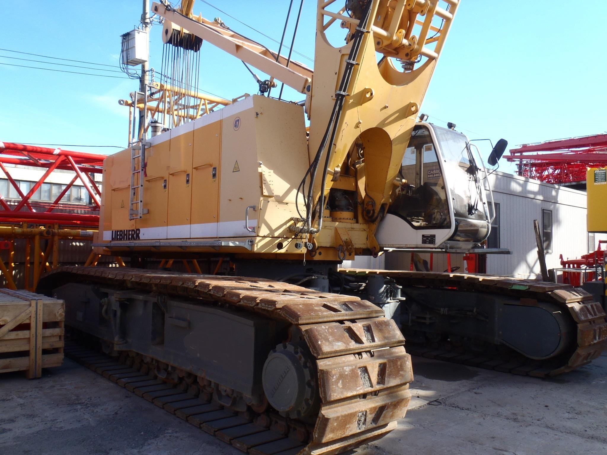 Detail photo of 2005 Liebherr HS855HD from Construction Equipment Guide