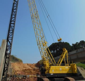Detail photo of 2017 Kobelco CK850G from Construction Equipment Guide