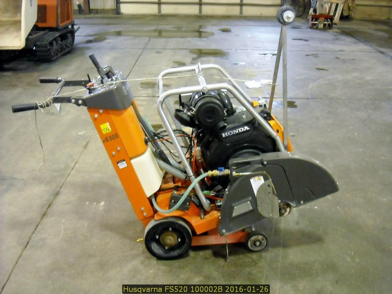 Detail photo of 2015 Husqvarna FS520 from Construction Equipment Guide