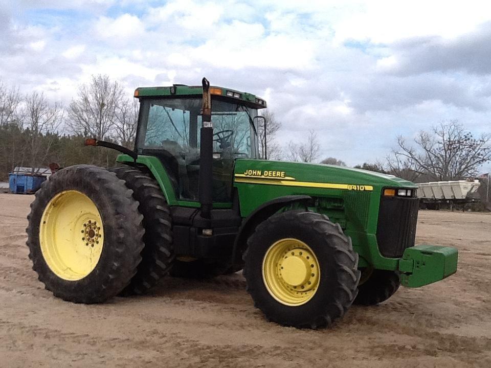 2001 John Deere 8410 Tractors 175 Hp Or Greater For