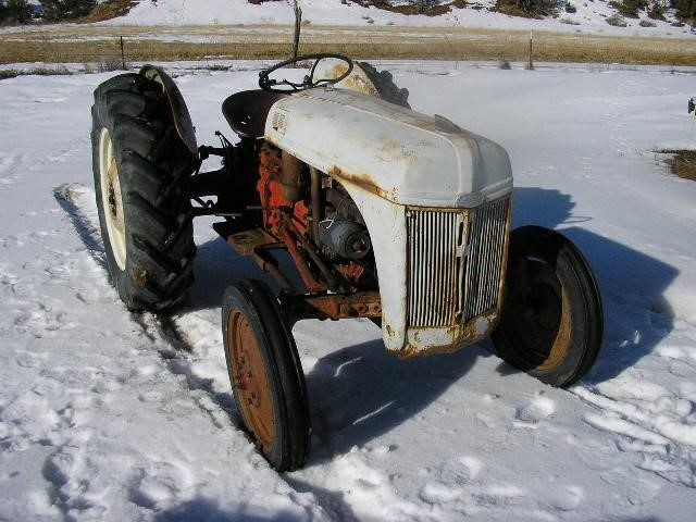 1946 8n Ford Tractor : Ford n tractors less than hp for auction at