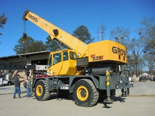 Detail photo of 2007 Grove RT535E from Construction Equipment Guide