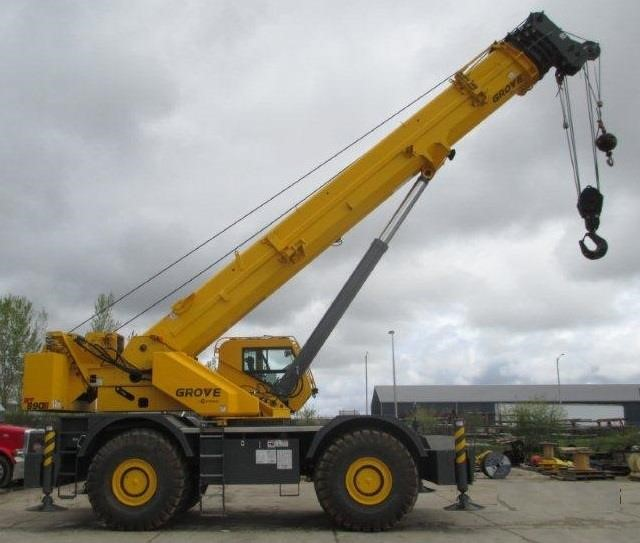Detail photo of 2015 Grove RT890E from Construction Equipment Guide