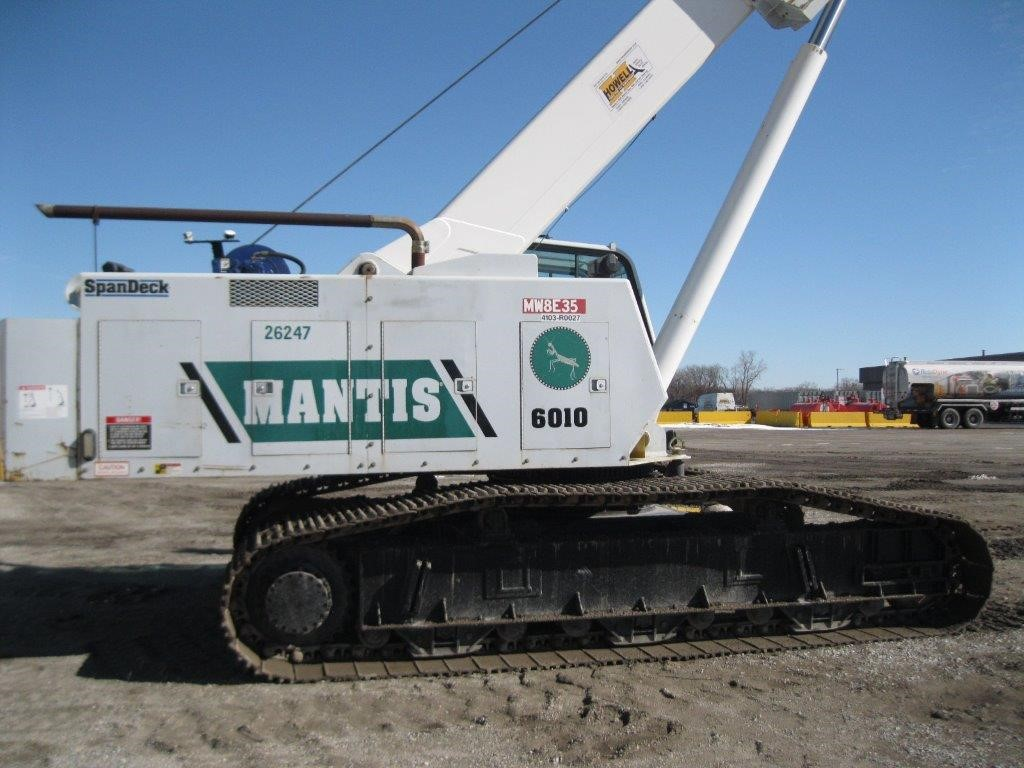 Detail photo of 2008 Mantis 6010 from Construction Equipment Guide