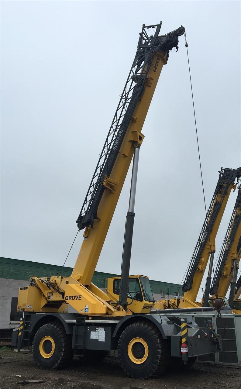 Detail photo of 2006 Grove RT875E from Construction Equipment Guide