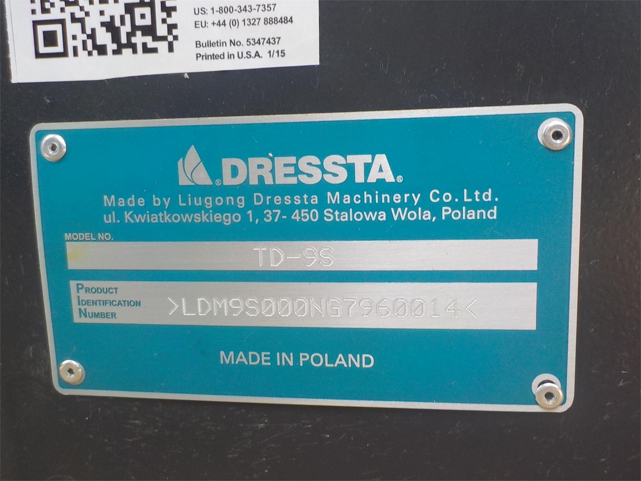 Detail photo of 2016 Dressta TD9S LT from Construction Equipment Guide