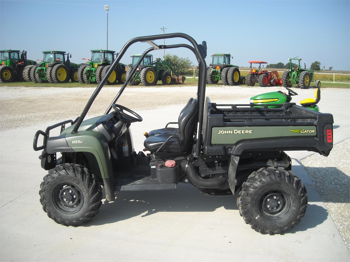 2011 john deere gator xuv 855d for sale. Black Bedroom Furniture Sets. Home Design Ideas